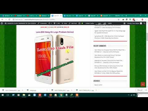 lava z60 flash file india