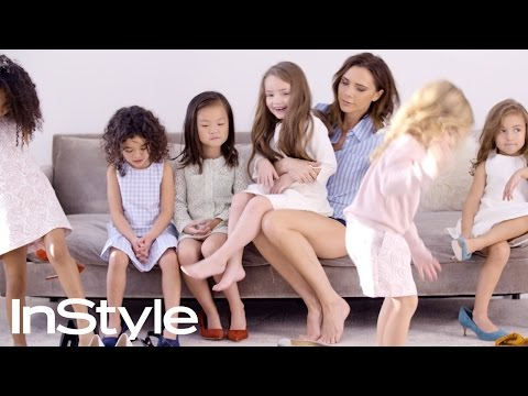 Victoria Beckham Talks Style with Pint-Size Journalists