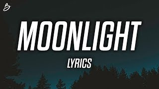 Cover images Ali Gatie - Moonlight (Lyrics / Lyric Video)