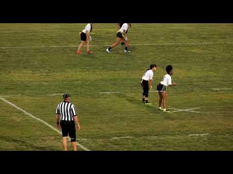 Dixie Hollins High School vs St Petersburg High School Junior Varsity Girls Flag Football