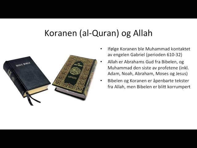 Islam: Koranen og de fem søylene