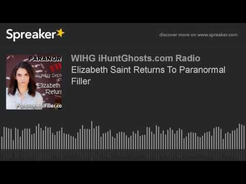 Elizabeth Saint Returns To Paranormal Filler