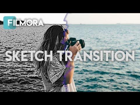 Tutorial Sketch Transition Di Filmora thumbnail
