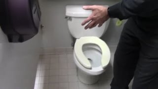 Toilet odor can not be found, check wax ring leak if rocking toilet