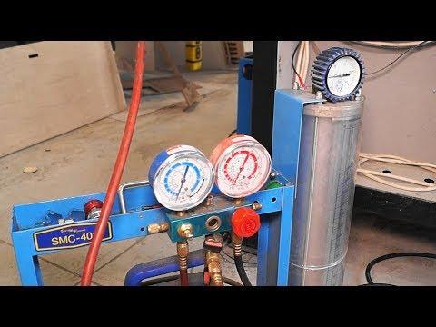 Заправка газом лазерной трубки CO₂. Часть 1
