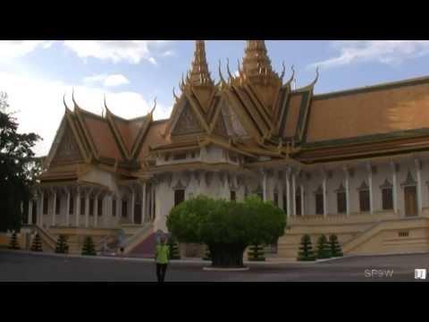 Royal Palace, Phnom Penh, Cambodia / Pałac Królewski, Phnom Penh, Kambodża