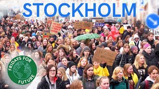 Fridays For Future Stockholm - March 15 2019 - Global Strike for Climate with Greta Thunberg