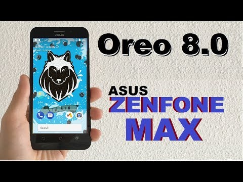 How To Update Android Oreo 8.0 In ASUS ZENFONE MAX (AIM Pure Stock Rom)