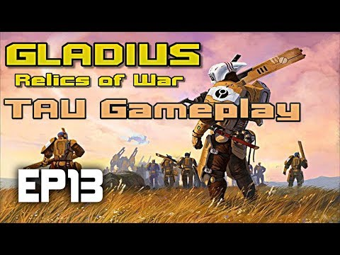 So close... | Gladius Relics of War TAU | Tau vs Tyranid IMPOSSIBLE DIFFICULTY | EP13 |