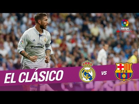 El Clasico - Luis Suarez and Sergio Ramos, protagonists at Camp Nou - Extended Highlights