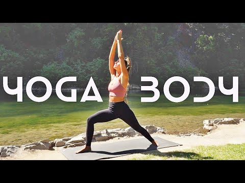 Total Body Yoga Workout (45 MIN) Strengthen & Stretch Your Back