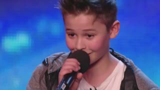 2 мальчика спели трогательную песню на шоу талантов