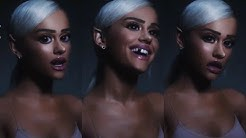 """ariana grande no tears left to cry but every time she says """"so i'm"""" or """"yeah"""" it gets faster"""