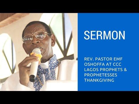 Pastor @ Ccc Ire Akari for Lagos Prophet & Prophetess thanksgiving