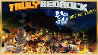 Truly Bedrock E78 To the Moon! #Notmyfault | Minecraft Bedrock, MCPE, MCBE