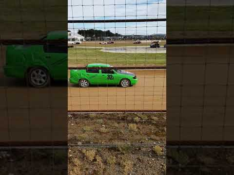 Production race 1 xfactor cars riverside speedway