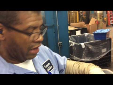 Custom Rubber Corp. Process: Snowman ID Deflashing