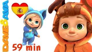 Video ☺️ Si Eres Feliz y lo Sabes | Canciones para Bebés. Colección Canciones Infantiles de Dave y Ava ☺️ download MP3, 3GP, MP4, WEBM, AVI, FLV Juli 2018