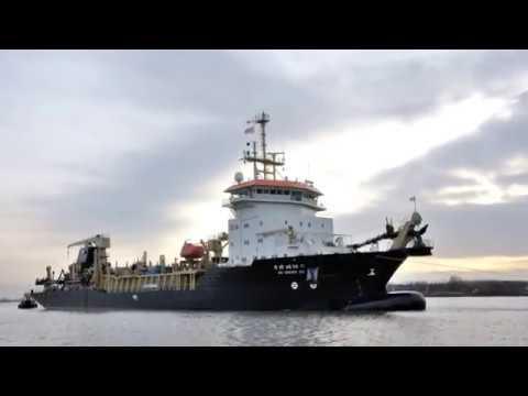 Trailing Suction Hopper dredger DCI XXI Royal IHC
