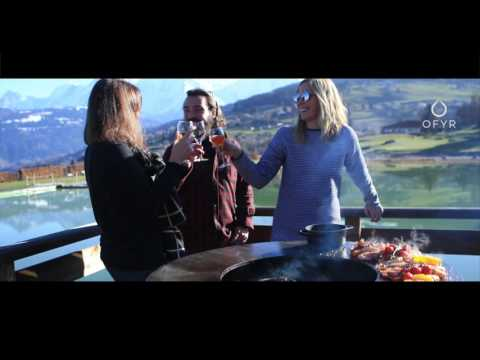 OFYR - The art of outdoor cooking - France Megeve day