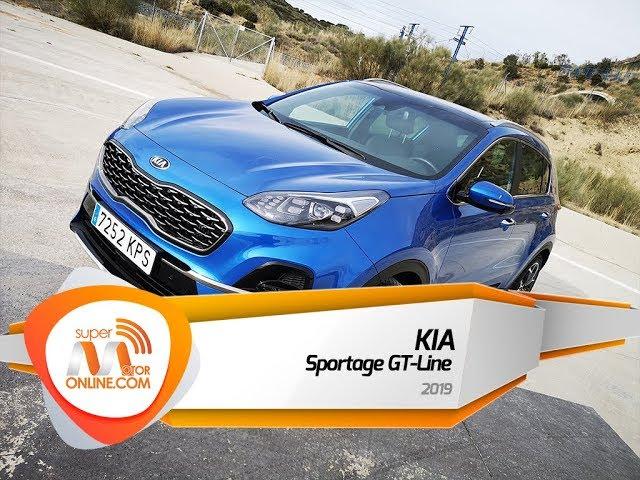 Kia Sportage GT Line 2019 / Al volante / Prueba dinámica / Review / Supermotoronline.com