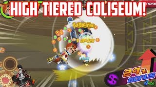 HIGH TIERED COLISEUM! - Kingdom Hearts Unchained X
