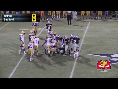 Tattnall Square Trojans vs. Stratford Academy Eagles - Live Football - 10/28/2016