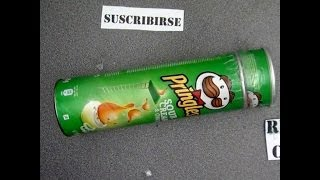 Còmo hacer un caleidoscopio reciclando botes de Pringles. Kaleidoscope  PringlesHacks cans