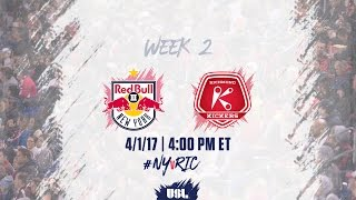 New York Red Bulls USL vs Richmond Kickers full match
