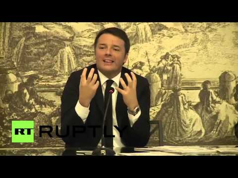 Italy: 'We can trust Putin' - Matteo Renzi