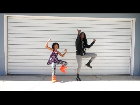 TZ Anthem Challenge | JuJu On That Beat Dance With My Niece!