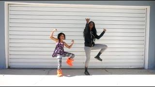 tz anthem challenge   juju on that beat dance with my niece