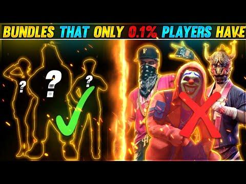 Download 5 BUNDLES MORE RARE THEN HIP HOP AND CRIMINAL BUNDLES😱 || ONLY 0.1% PLAYER HAVE😱 || GARENA FREE FIRE