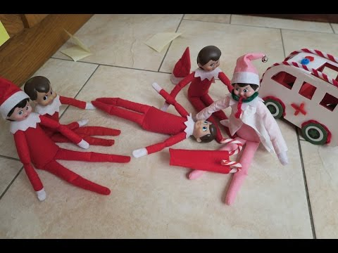 Elf On The Shelf Sees The North Pole Doctor Elf