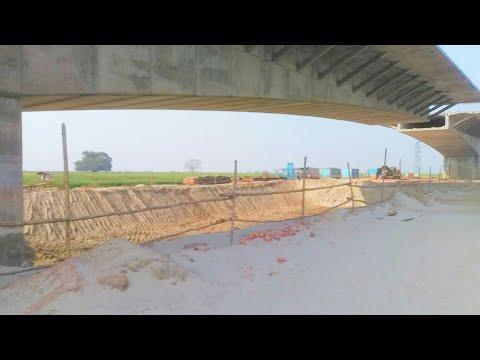 Bakhtiyarpur Tajpur Green Field Bridge on Ganga Current status 2 Road Bridge Construction in India