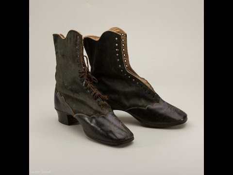 Balmoral Civil War Boots by American Duchess