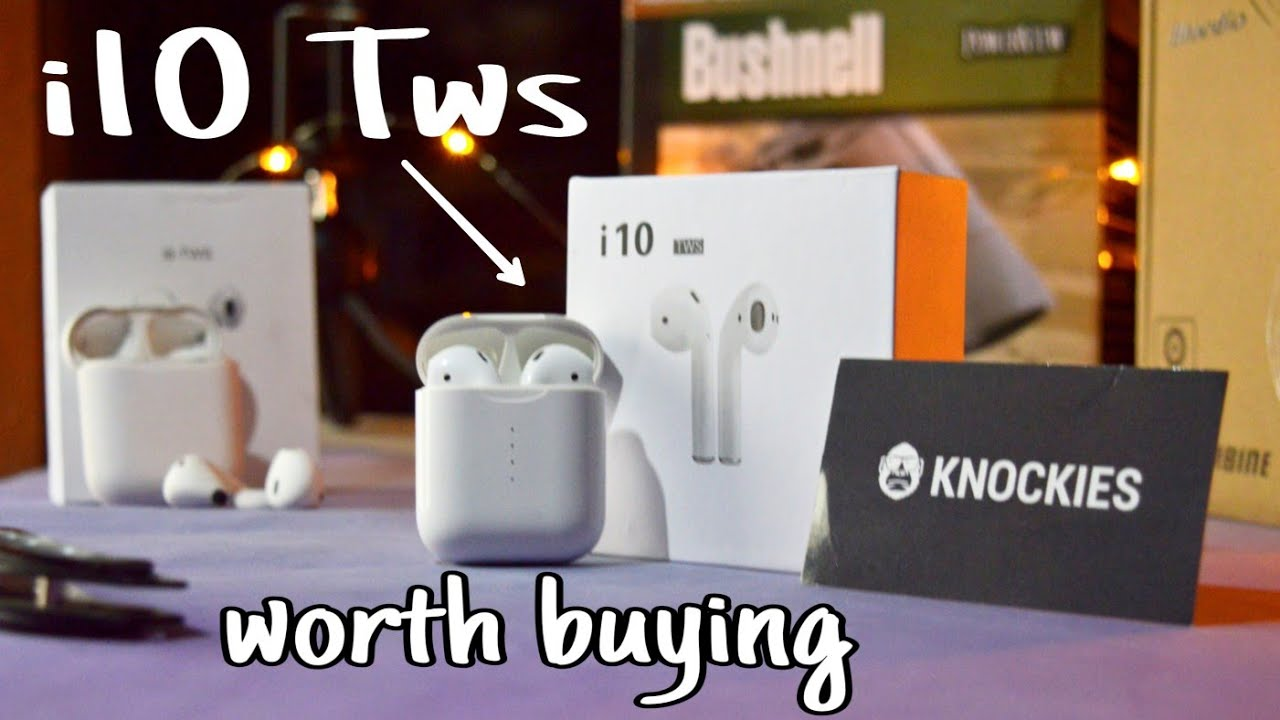 i10 TWS True Wireless Stereo Headphones Unboxing and Review (Urdu/Hindi)