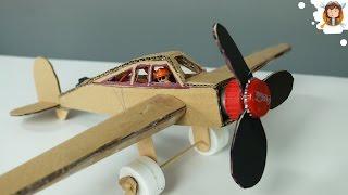 Como fazer um Avião de Cartão