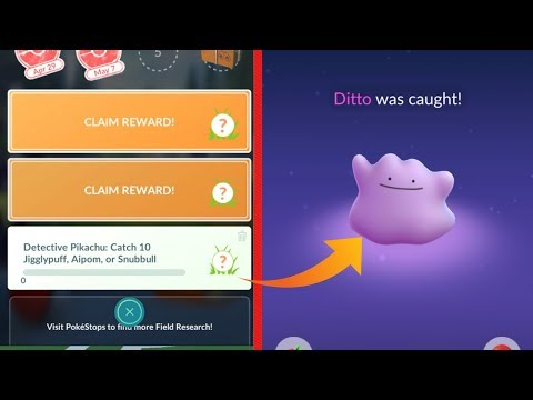 NEW EASY METHOD ON CATCHING DITTO IN POKEMON GO! How To Catch Ditto!