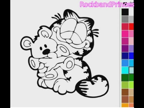 Coloring Pages Garfield