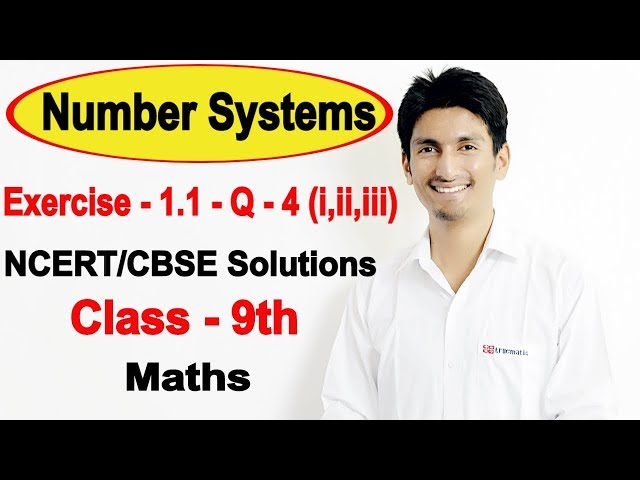 Chapter 1 Exercise 1.1 Question 4 - Number Systems Class 9 Maths - NCERT Solutions