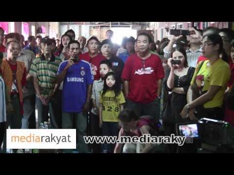 Negaraku & Ibu Pertiwiku (Sarawak) Di Rumah Panjang
