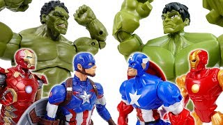 Avengers Vs. Avengers~! Defeat Dinosaur Together thumbnail