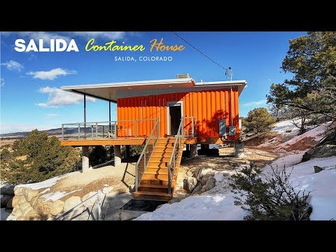 Salida Shipping Container Home in Colorado Rockies, USA