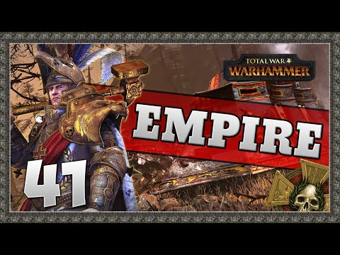 STEAM TANK TROUBLE! Total War: Warhammer - Empire Campaign #41
