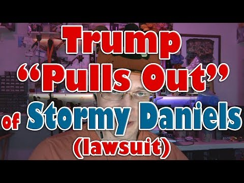 "Donald Trump ""Pulls Out"" of Stormy Daniels lawsuit; Removes to Federal Court Mp3"