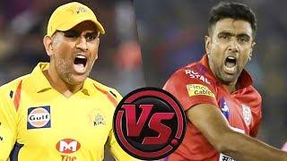 Dhoni vs Ashwin KXIP vs CSK Full Match Analysis & Dream 11 Win Prediction   IPL 2019