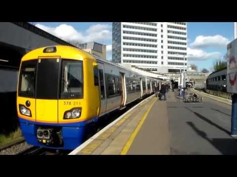 London Underground & Overground At Gunnersbury (27th February 2015)