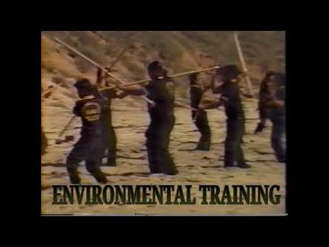 MALIBU BEACH-CALIFORNIA-LONTAYAO MARTIAL ARTS ORGANIZATION-ENVIRONMENTAL TRAINING-1991.