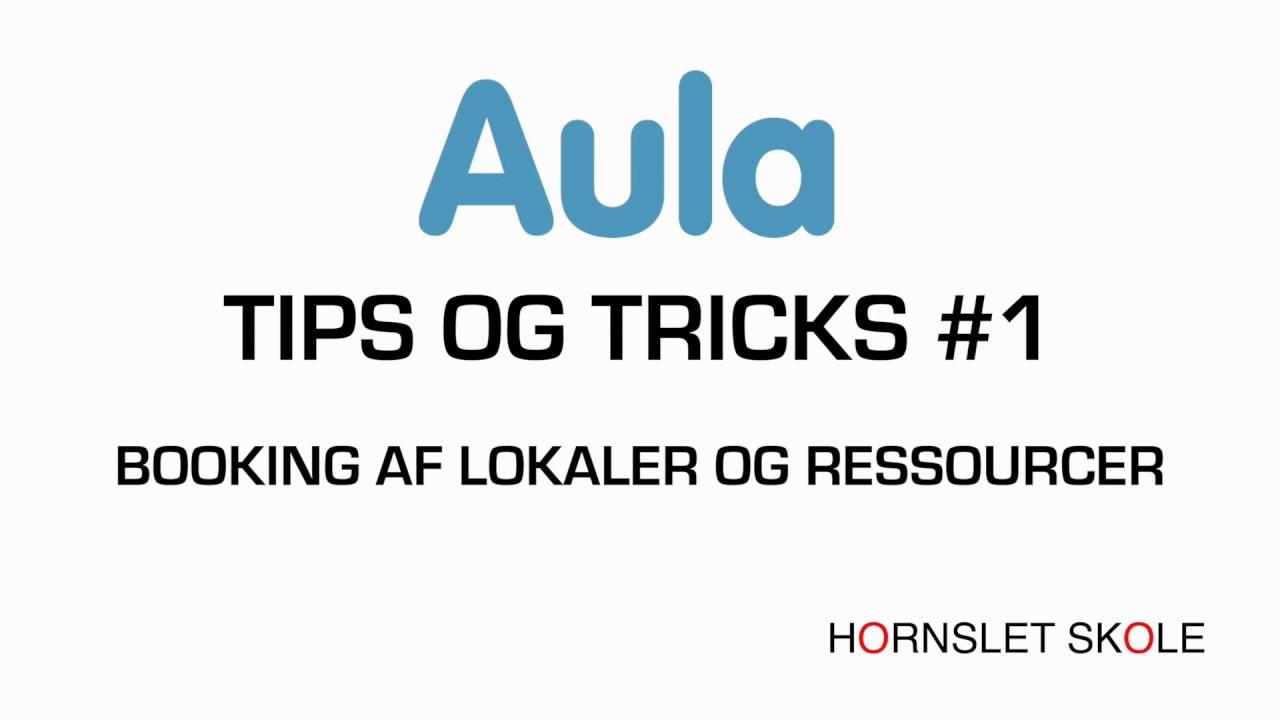AULA tips og tricks #1